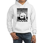 Get in the House Music Hooded Sweatshirt