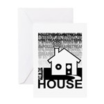 Get in the House Music Greeting Card
