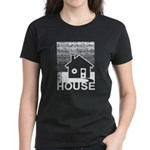 Get in the House Music Women's Dark T-Shirt