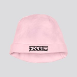 Get in the House Music baby hat