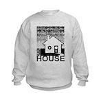 Get in the House Music Kids Sweatshirt