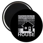Get in the House Music Magnet