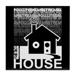 Get in the House Music Tile Coaster
