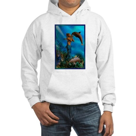Best Seller Merrow Mermaid Hooded Sweatshirt