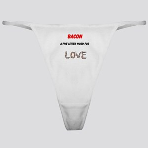 Bacon Love Classic Thong