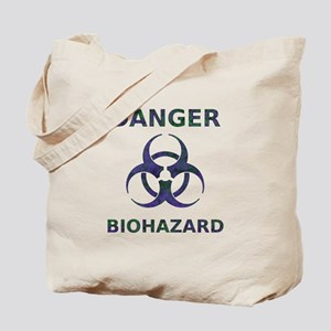 Biohazard Warning Tote Bag