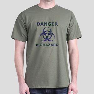 Biohazard Warning Dark T-Shirt