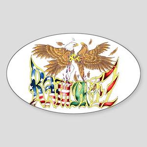 Ramirez Oval Sticker