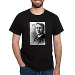 Thomas Edison Inspiration Black T-Shirt