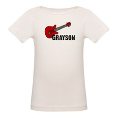 Grayson Guitar Personalized Tee