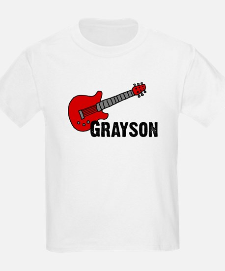 Grayson Guitar Personalized T-Shirt
