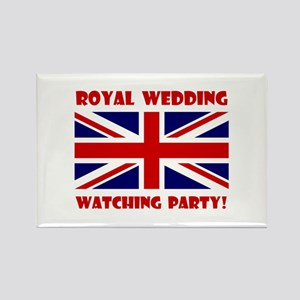 Royal Wedding Watching Party! Rectangle Magnet