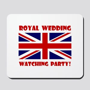 Royal Wedding Watching Party! Mousepad