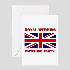 Royal Wedding Watching Party! Greeting Card