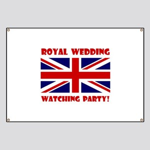 Royal Wedding Watching Party! Banner