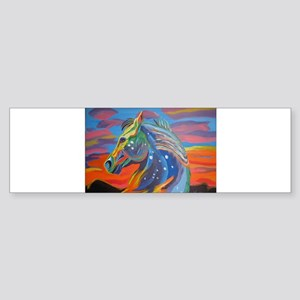 Appaloosa painting Sticker (Bumper)