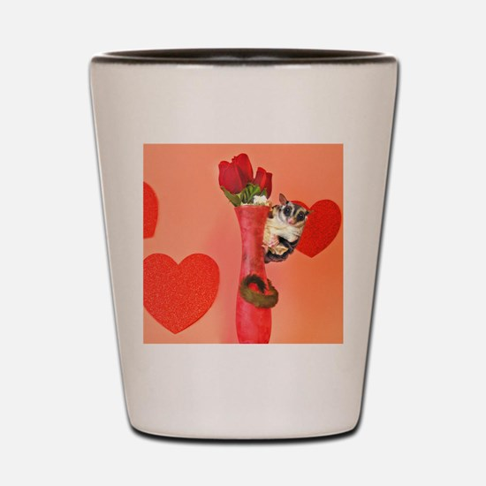 Valentine's Day #3 Shot Glass