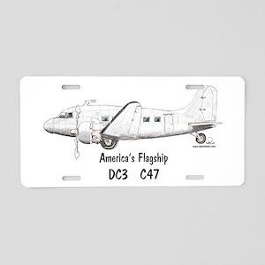 America's Flagship Aluminum License Plate