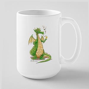 """Hot Stuff: Dragon Large Mug"