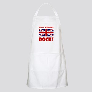 Royal Weddings Rock! Apron