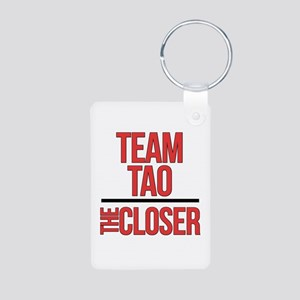 Team Tao Aluminum Photo Keychain