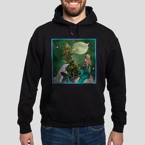 Best Seller Merrow Mermaid Hoodie (dark)
