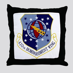 410th Bomb Wing Throw Pillow