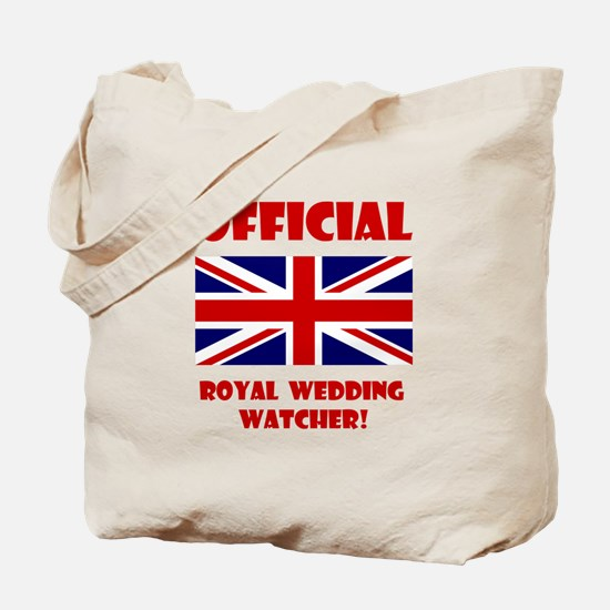 Royal Wedding Watcher Tote Bag