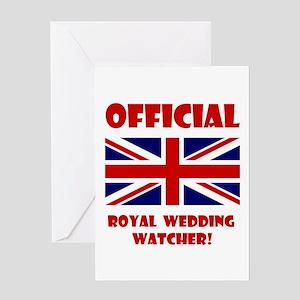 Royal Wedding Watcher Greeting Card