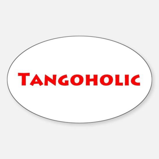 Tangoholic Sticker (Oval)