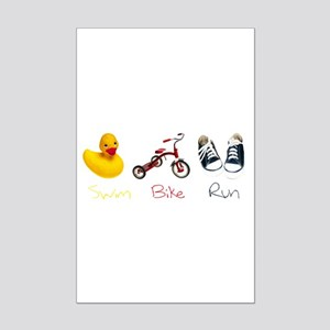 Baby Tri Mini Poster Print
