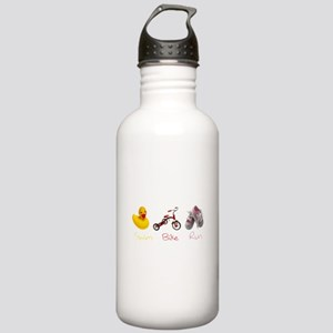 Baby Girl Tri Stainless Water Bottle 1.0L