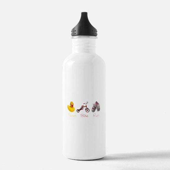 Baby Girl Tri Water Bottle