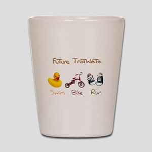 Future Triathlete Shot Glass