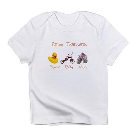 Future Girl Triathlete Infant T-Shirt