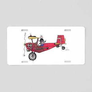 Tailwheels Aluminum License Plate