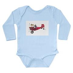 Tailwheels Long Sleeve Infant Bodysuit
