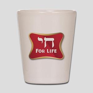 Chai For Life Shot Glass