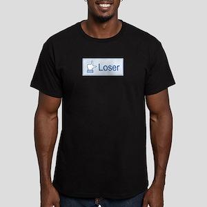 Loser Men's Fitted T-Shirt (dark)