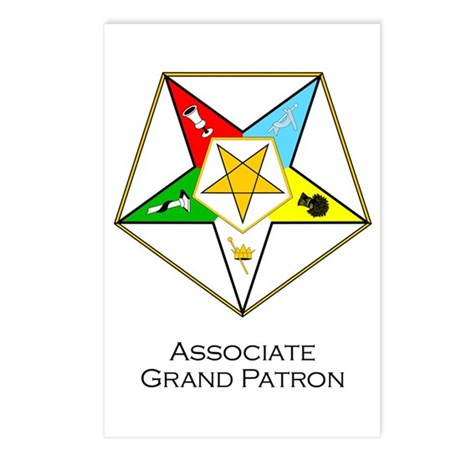 Associate Grand Patron Postcards (Package of 8)