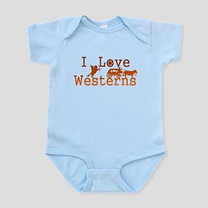 I Love Westerns Infant Bodysuit