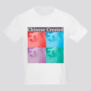 Crested in brights Kids T-Shirt