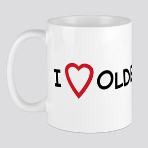 I Love Older Men Mug