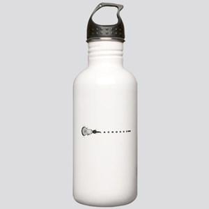 Lacrosse Stick Stainless Water Bottle 1.0L