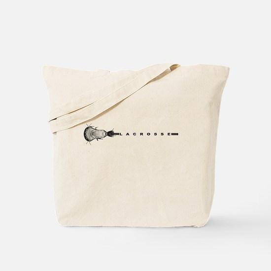 Lacrosse Stick Tote Bag