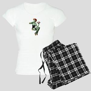 zombie pin-up girl Women's Light Pajamas