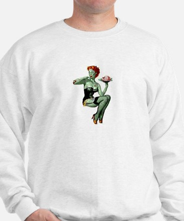 zombie pin-up girl Jumper