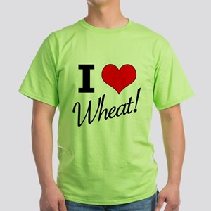 I Love Wheat - The Tick Green T-Shirt