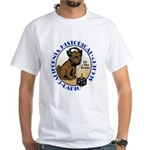 California Historical Radio S White T-Shirt