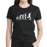Soccer Evolution Women's Dark T-Shirt